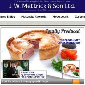 Carnicerías locales como la de JW Mettricks & Son pueden aprovechar su fama 2.0 y vender en todo el país.
