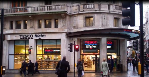 Tesco Metro (fotografía de Tesco.com)
