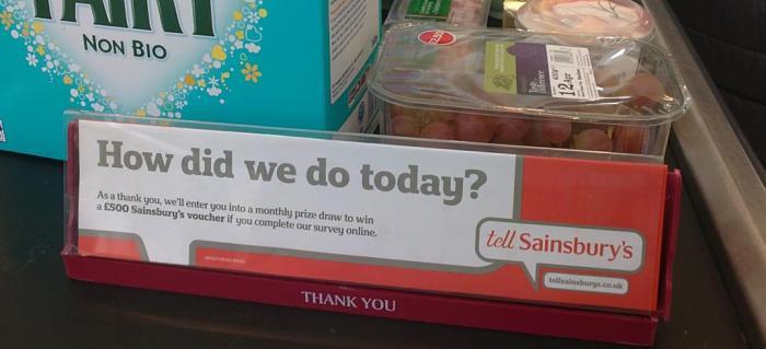 Sainsbury How dis we do