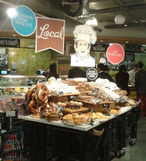 Wholefoods - bakery zones onetofive