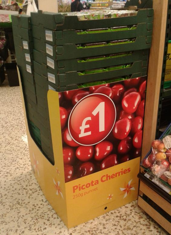 Tesco Picota Cherries