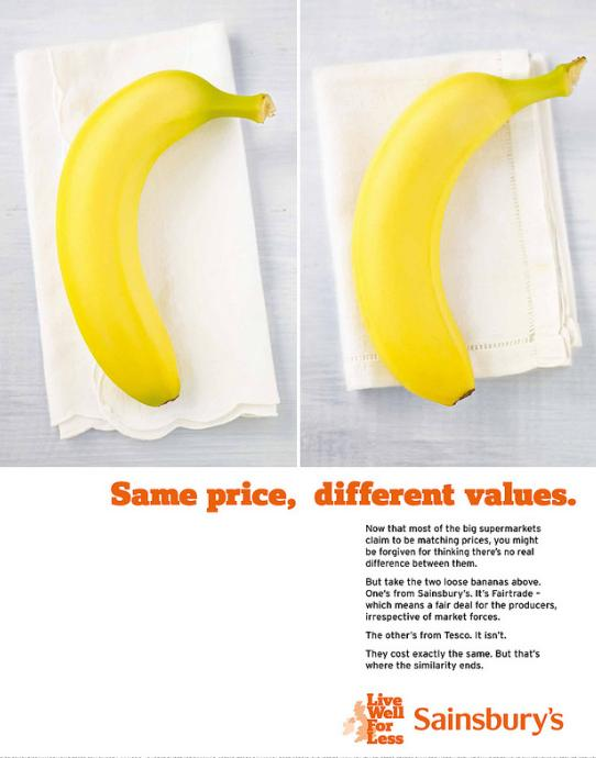 Sainsbury - value for values
