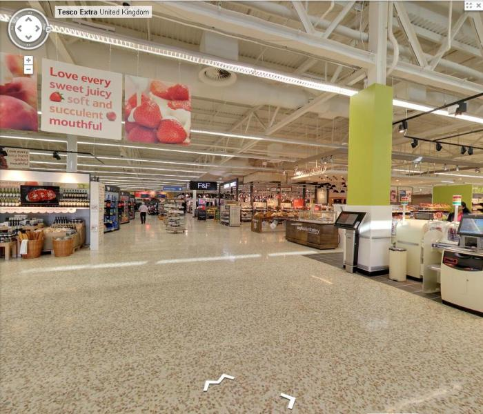 Tesco Extra - google maps