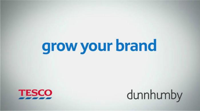 Tesco - grow your brand