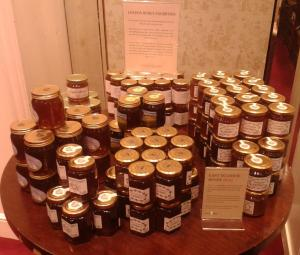 London Honey Exhibition en Fortnum & Mason