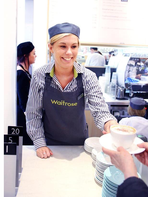Todo son sonrisas en Waitrose. Fuente JLP
