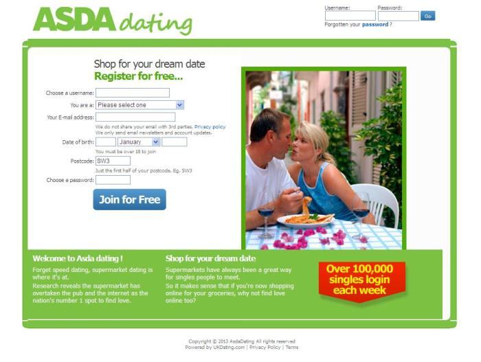 Asda - Dating