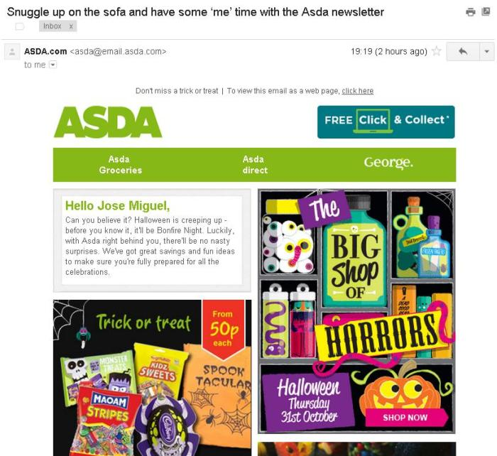 Asda - snuggle up