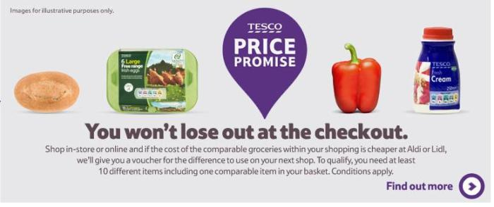 Tesco - Irish price promise