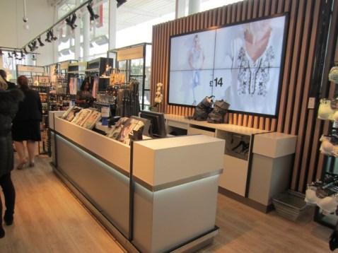 La Boutique de F&F en uno de los nuevos Tesco.