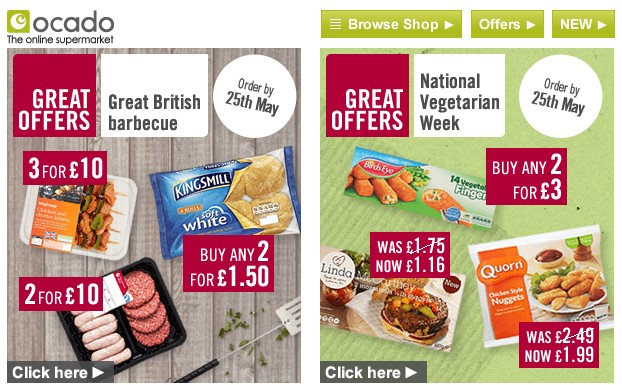 Ocado - catering to everybody