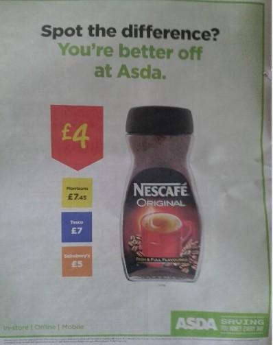"""Ha calado entre los compradores británicos el mensaje de """"Estás mejor con Asda"""""""
