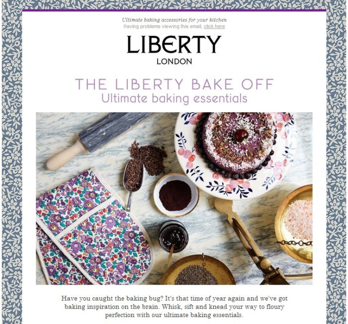 Liberty - Bake Off