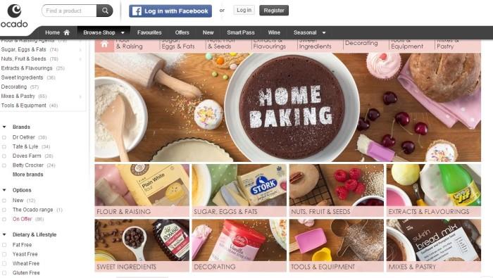 Ocado - Home Baking