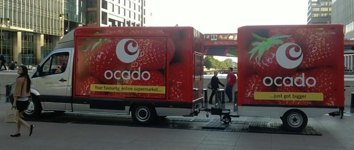 Ocado - new lorries