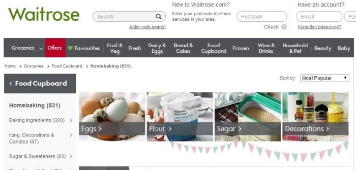 Waitrose - Home Baking