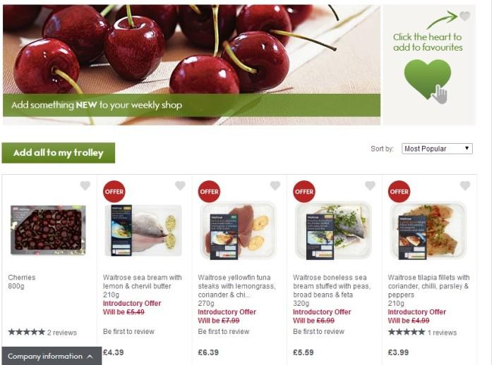 Waitrose - New Products