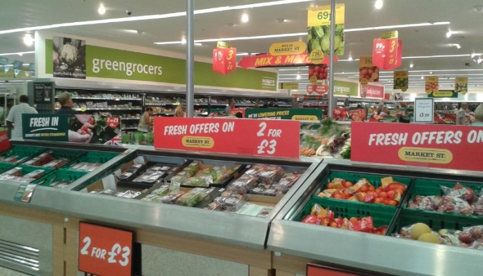 Morrisons - fresh produce