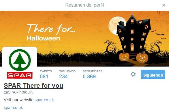 Spar Halloween