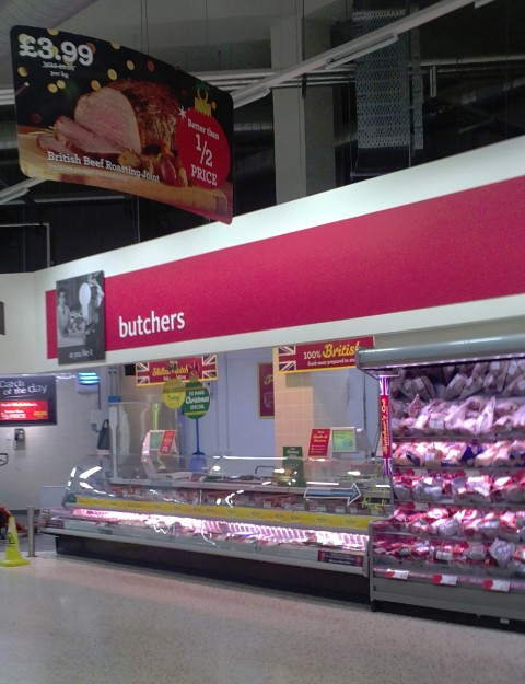 Morrisons - butchers