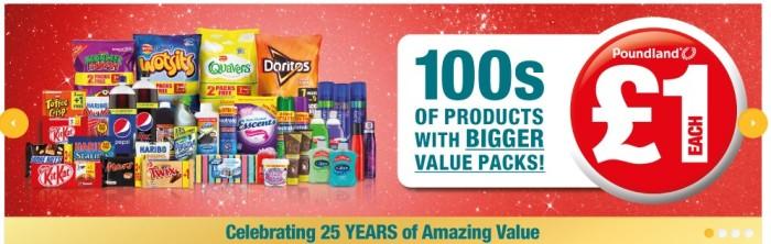 Poundland va incorporando distintas promociones a su oferta.