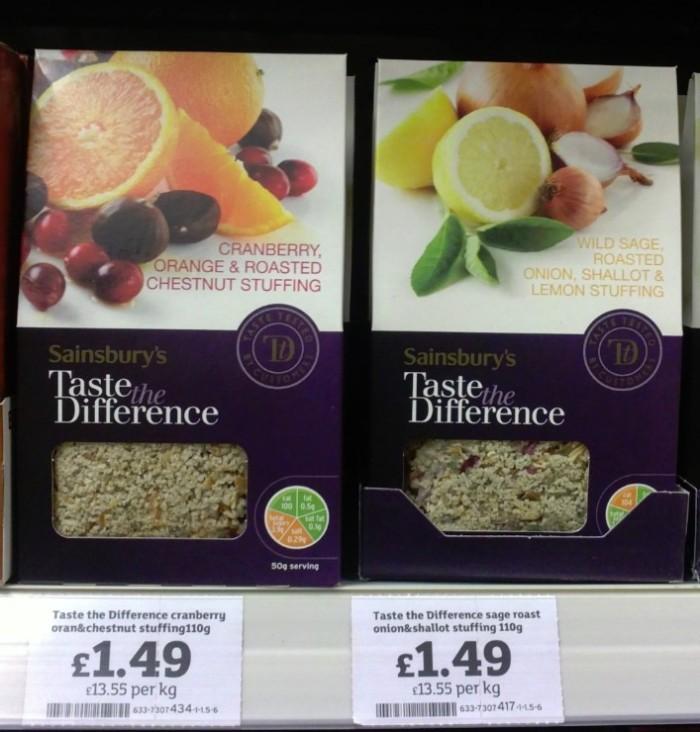 La MDD premium de Sainsbury's continua dándoles alegrías y buenos resultados.