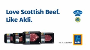 Aldi - Love Scottish beef