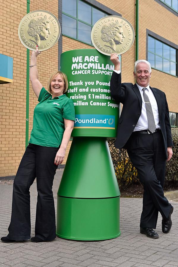 Jim McCarth, CEO de Poundland, de los pocos retailers que sonríen hoy en día. Fuente Poundland.