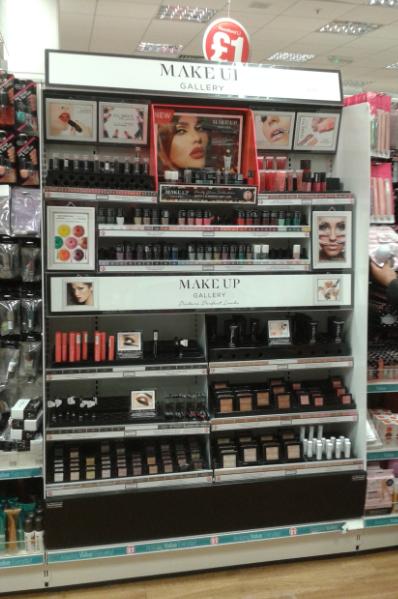 La nueva sección de maquillaje Make Up ha sido todo un éxito.