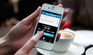 Fotografía de Barclays, su App para pagar en tiendas.