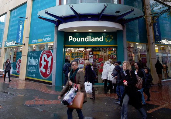 Poundland - New Shop