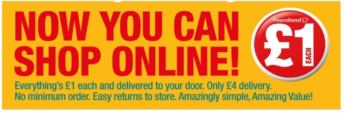 Poundland - Online shop