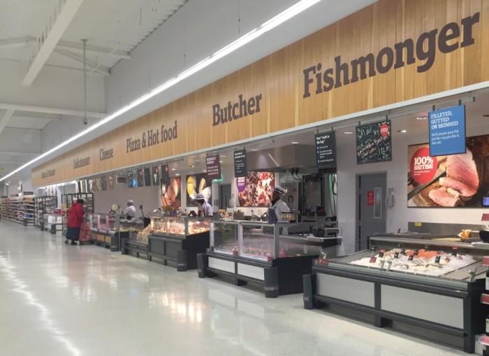 Sainsbury's - Fresh Counters