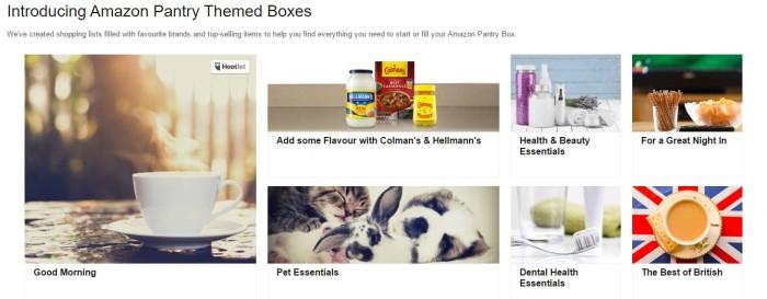 Amazon ofrece inspiración a los clientes de su servicio Amazon Pantry Prime