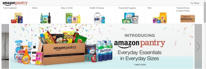 Amazon Pantry UK