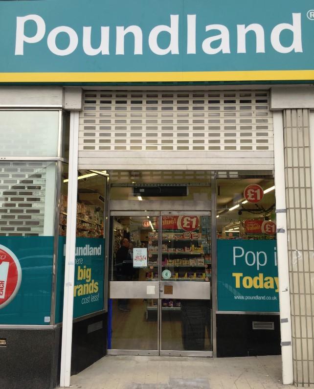 Poundland - Door