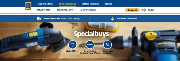 Aldi Specialbuys