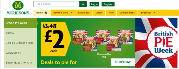 Morrisons - Pie Week