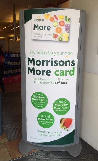 Morrisons More Card Store