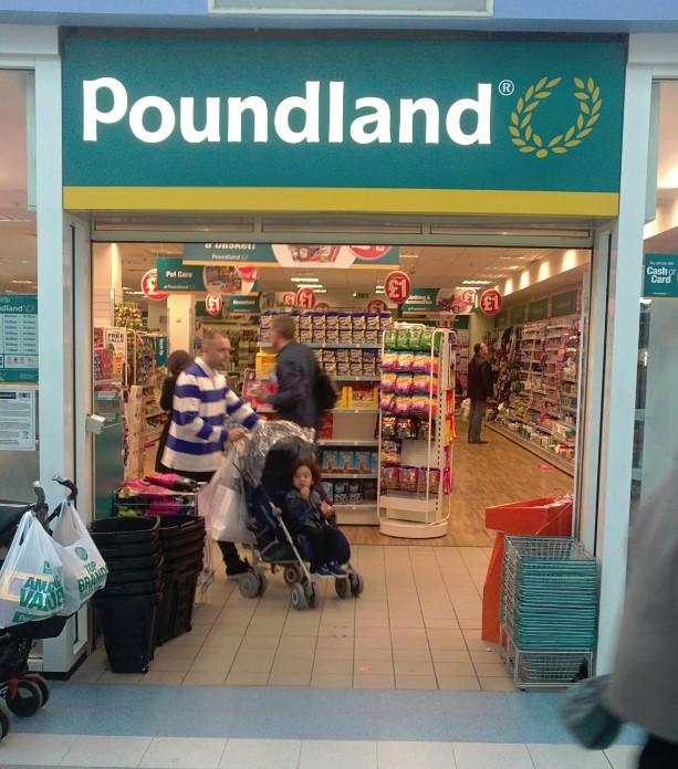 Poundland - store-front 2