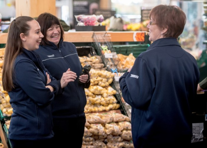 Tesco Female Colleagues